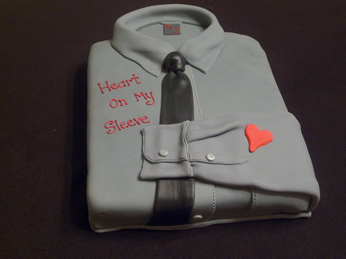 Heart On My Sleeve  - new single by Michael Johns..a fun cake promoting the song! | by JaneBK