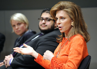 Shamil IDRISS, Her Majesty Queen NOOR, Emanuele CASTANO, Mohamed EL-FATATRY & Andrea ter AVEST DAHM | by LIVEfromtheNYPL