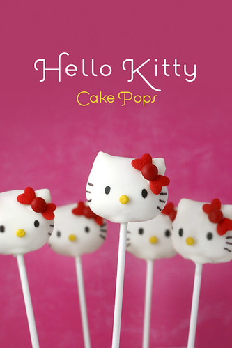 Hello Kitty Cake Pops | by Bakerella