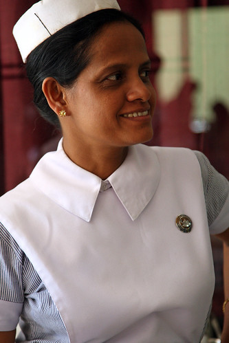Nurse hospital in Sri Lanka | by World Bank Photo Collection