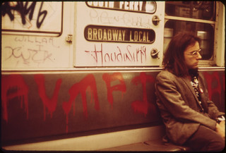 Vandals Have Spray-Painted This Subway Car. 05/1973 | by The U.S. National Archives