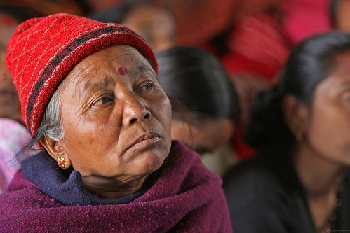 Woman speaks about Water Supply and Sanitation program in Nepal | by World Bank Photo Collection