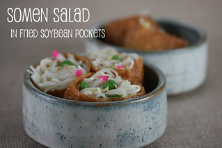 Somen Salad in Inari Tofu Packets (Food Librarian) | by Food Librarian