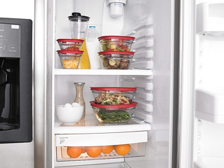 Glass food storage containers - Fridge | by Rubbermaid Products