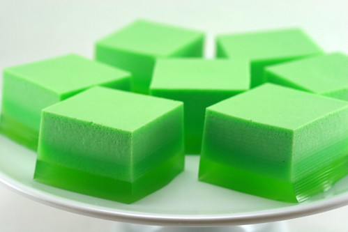 St. Patrick's Day Ice Cream Jello | by Food Librarian