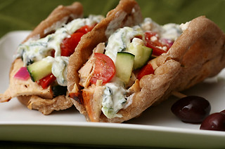 chicken gyros 8 | by crumblycookie