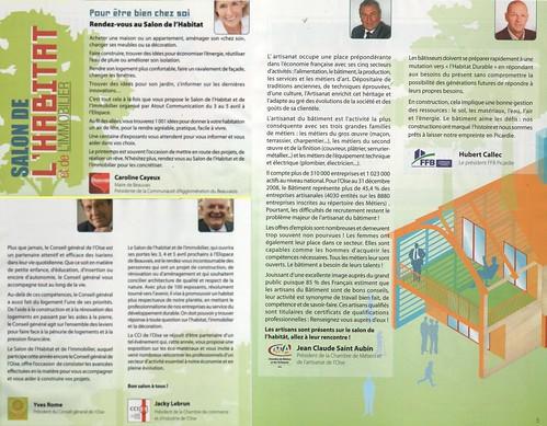 Guide salon de l 39 habitat beauvais textes pr sentation - Salon habitat beauvais ...