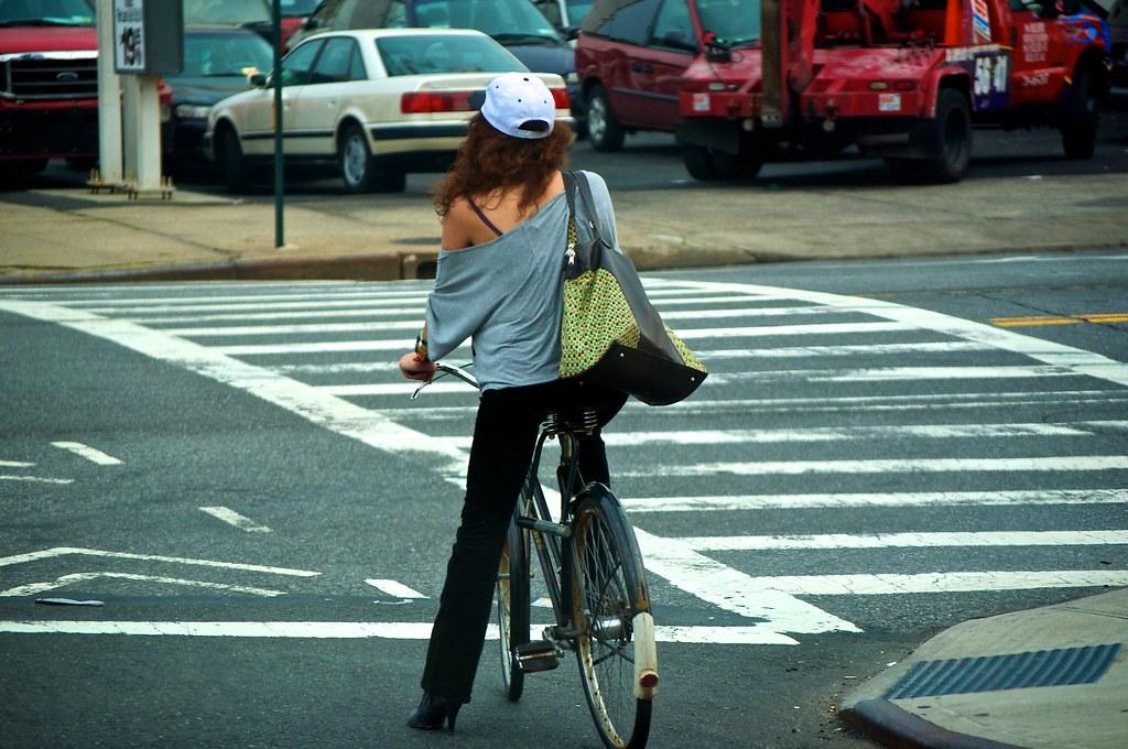 Stylish Cyclist