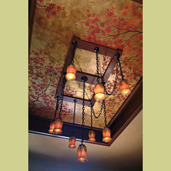 Maple Branches Stencils. Wall and ceiling stencil designs by Cutting Edge Stencils. | by cuttingedgestencils