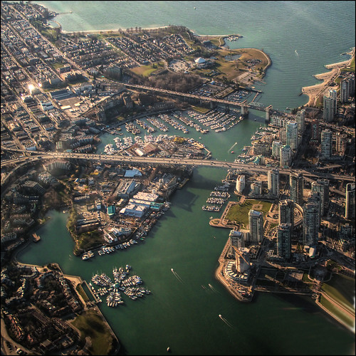 Granville Island and False Creek | by ecstaticist - evanleeson.com