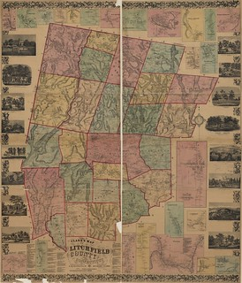 Clark's map of Litchfield County, Connecticut. | by uconnlibrariesmagic