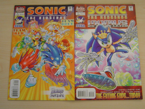 Two Sonic Comics | by SEGA of America