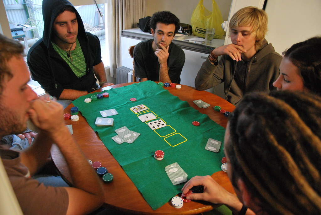 Texas Hold'em Poker - Napier - New Zealand