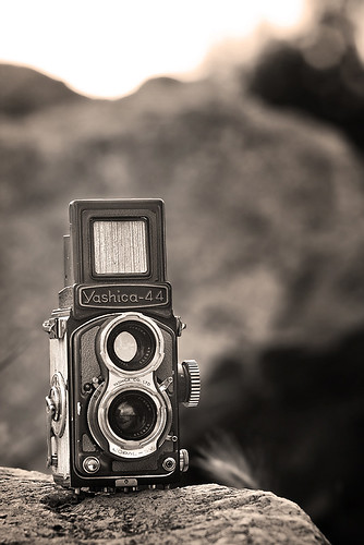 Yashica 44 TLR | by Geoffrey Gilson