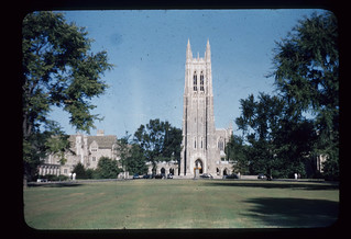 Duke University Chapel, September 1950 | by Duke University Archives