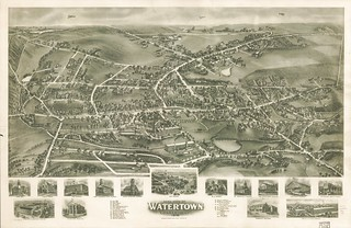View of Watertown, Conn. 1918. | by uconnlibrariesmagic