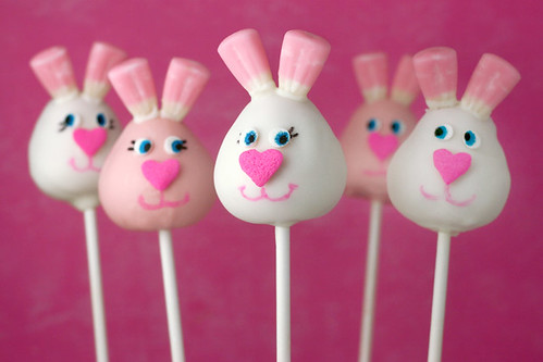 Bunny Cake Pops | by Bakerella
