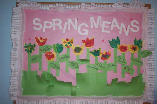 bulletin board spring | by stacycakes