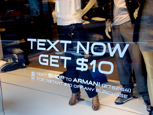 Mobile SMS + Point Of Sale + Delicious Typography = Win | by Joe Pemberton