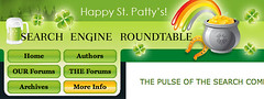 St. Patricks Day Theme at SERoundtable.com | by rustybrick