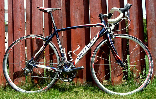 The New Steed - a 2008 Specialized Tarmac Expert - Ultegra/Dura-Ace drivetrain | by Jeremy Jenum