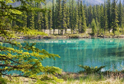 teal blue lake | by kla4067