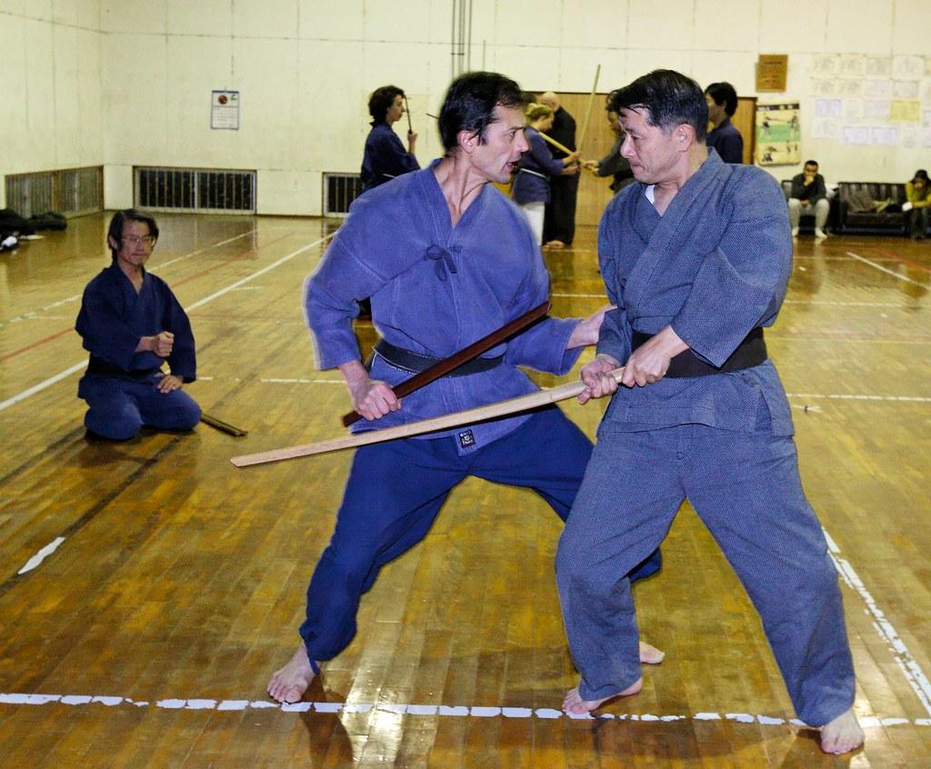 Keiko gymnase - Japon 2005_07