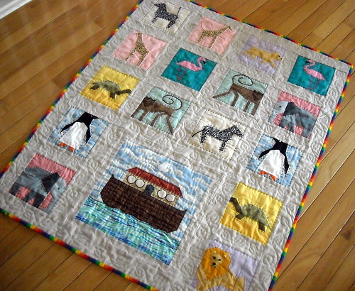 animal ark quilt | by vickivictoria
