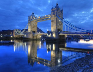 London Bridge (Tower Bridge) : Reflection on the River Thames | by Anirudh Koul