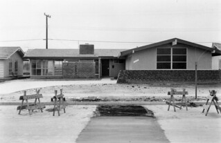 Tract house, 12551 Foster Rd., Rossmoor, March 1960 | by Orange County Archives
