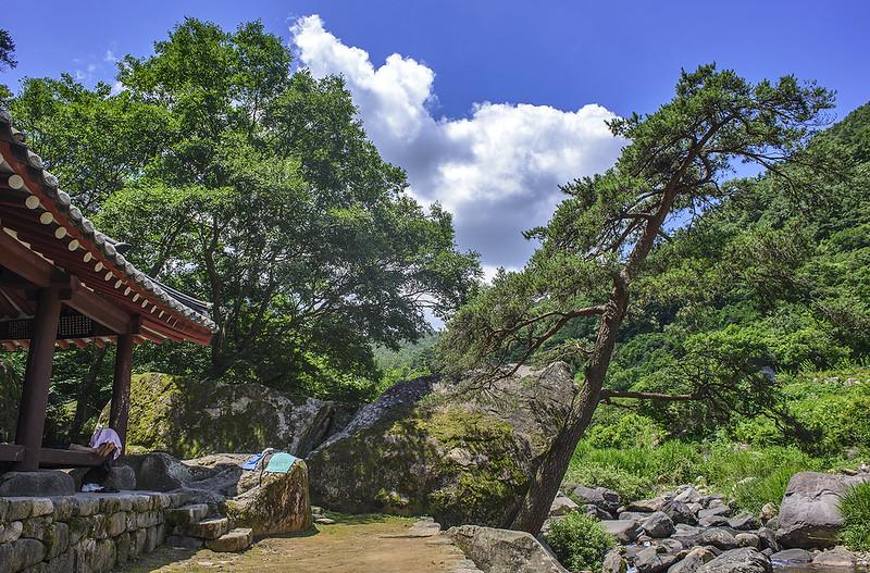 Gwangju, South Korea - Mudeungsan National Park - Pungamjeong (풍암정)
