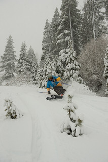 "15"" of new snow in 24 hours (2.8.14) Photo: Hank deVre 