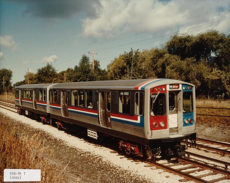 CTA 2400-series Railcar