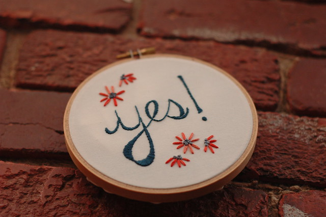 yes! vacation stitching