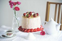 X52 - Tårta - Jordgubbstårta