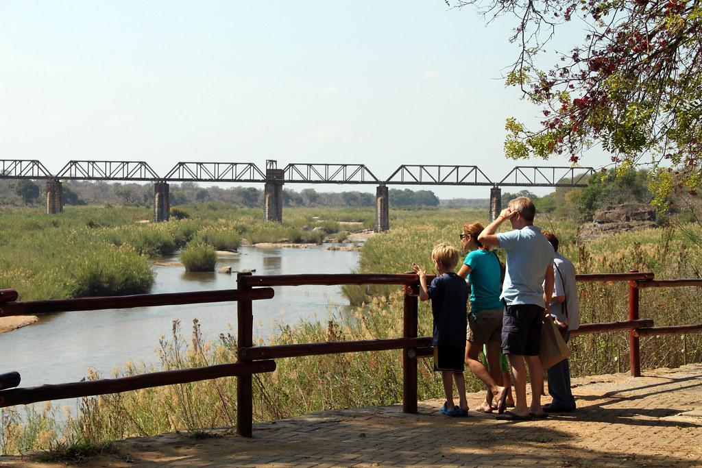 Skukuza camp, Kruger National Park