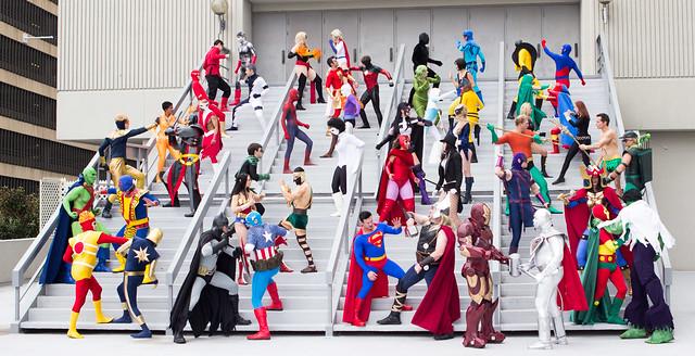 Dragon*Con 2013: JLA vs Avengers