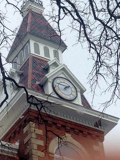 Ambrose Hall clock tower | by St. Ambrose University