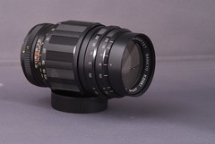 Sankyo Kohki Komura 135mm M42 Lens