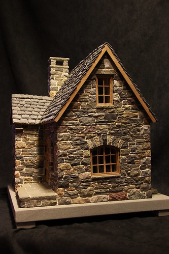 Miniature Stone Cottage Flickr Photo Sharing