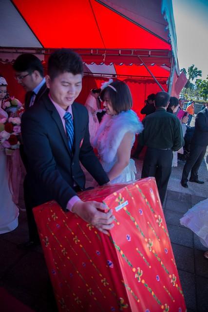 參加集團婚禮每對新人都送冰箱