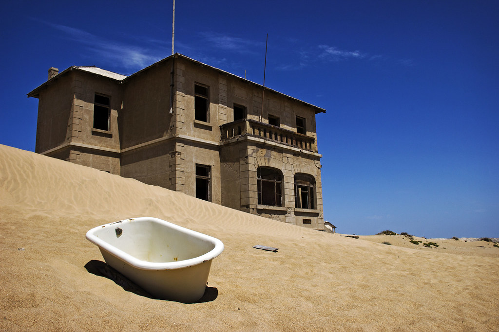 Desolated Desert Town Kolmanskop