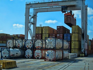 Container Port | by raymondclarkeimages