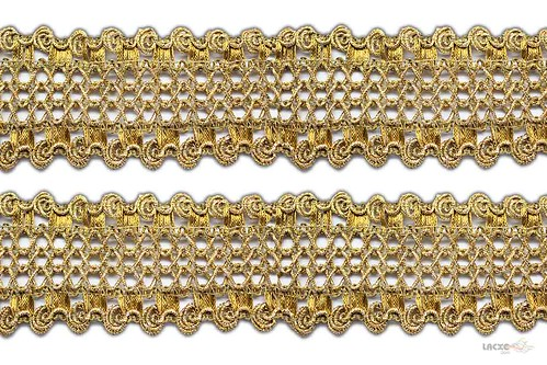 crochet lace gold for decoration Lacxo.com Indian ...