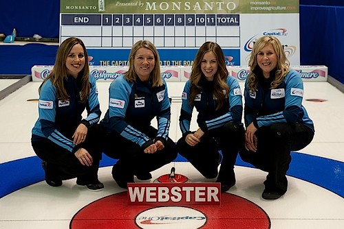 Team Webster — The Glencoe Club, CalgaryCrystal Webster, Cathy Overton-Clapham, Geri-Lynn Ramsay, Samantha Preston, Mark Johnson (coach) | by seasonofchampions