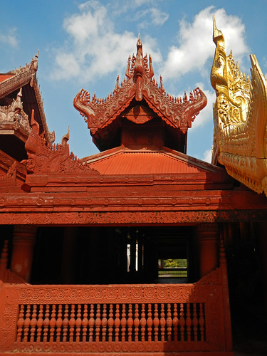 Rooflines at the Mandalay Royal Palace