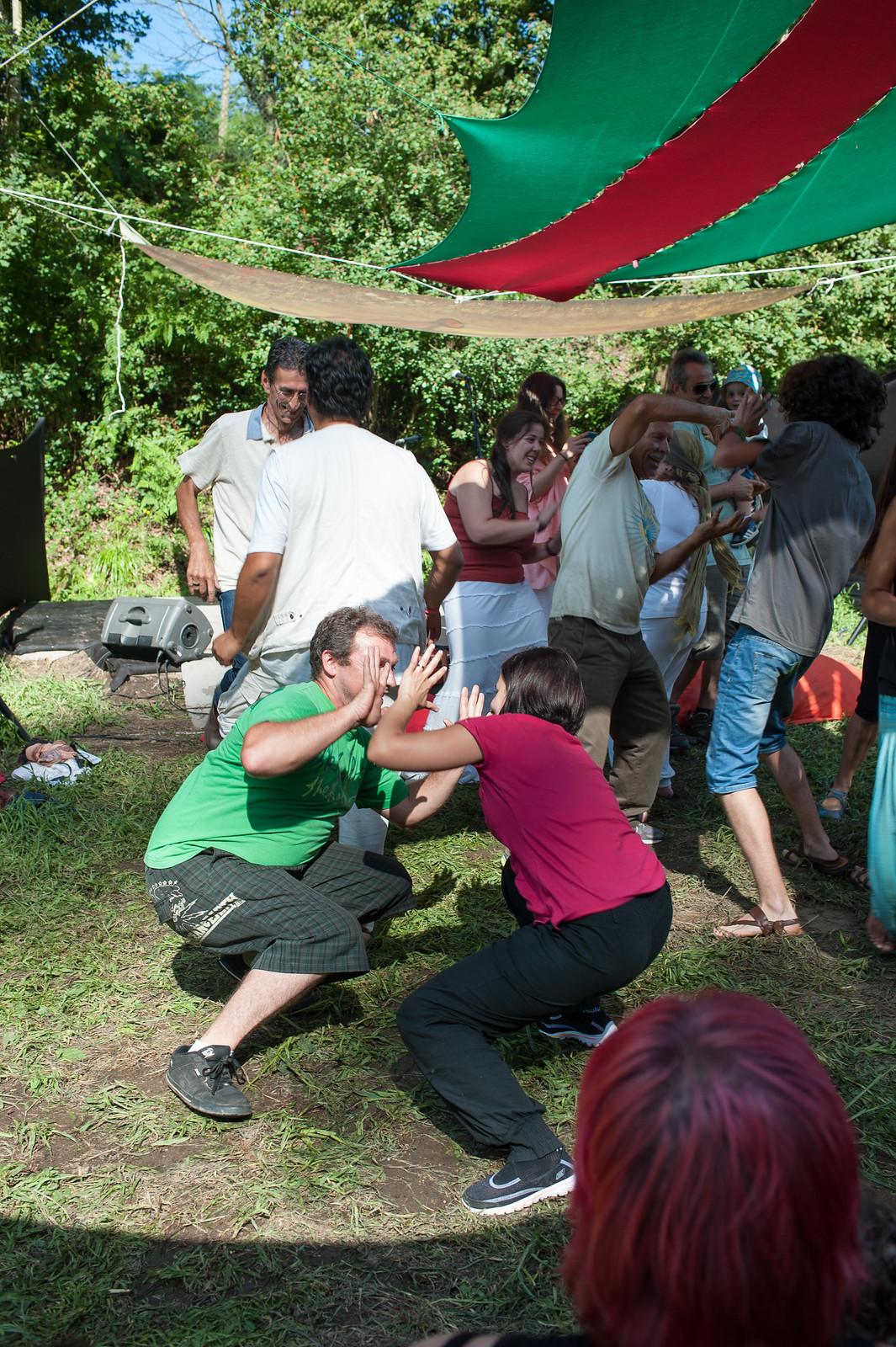 Festival da Paz - risoterapia