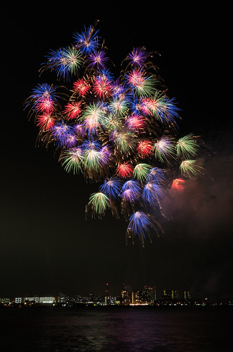Kobe Fireworks 2014 17