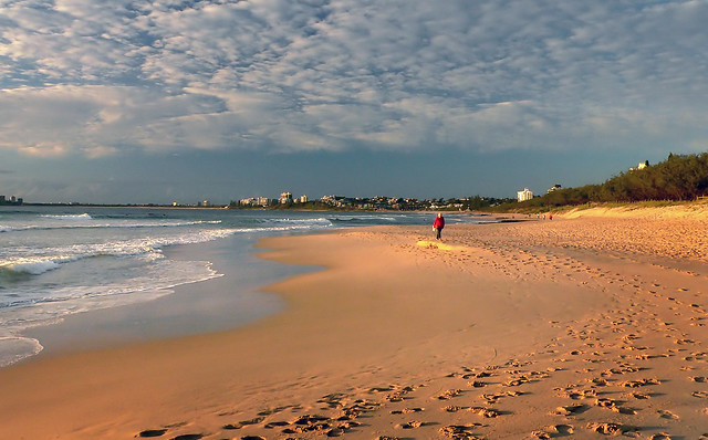 Morning stroll. Sunshine Coast Aust.