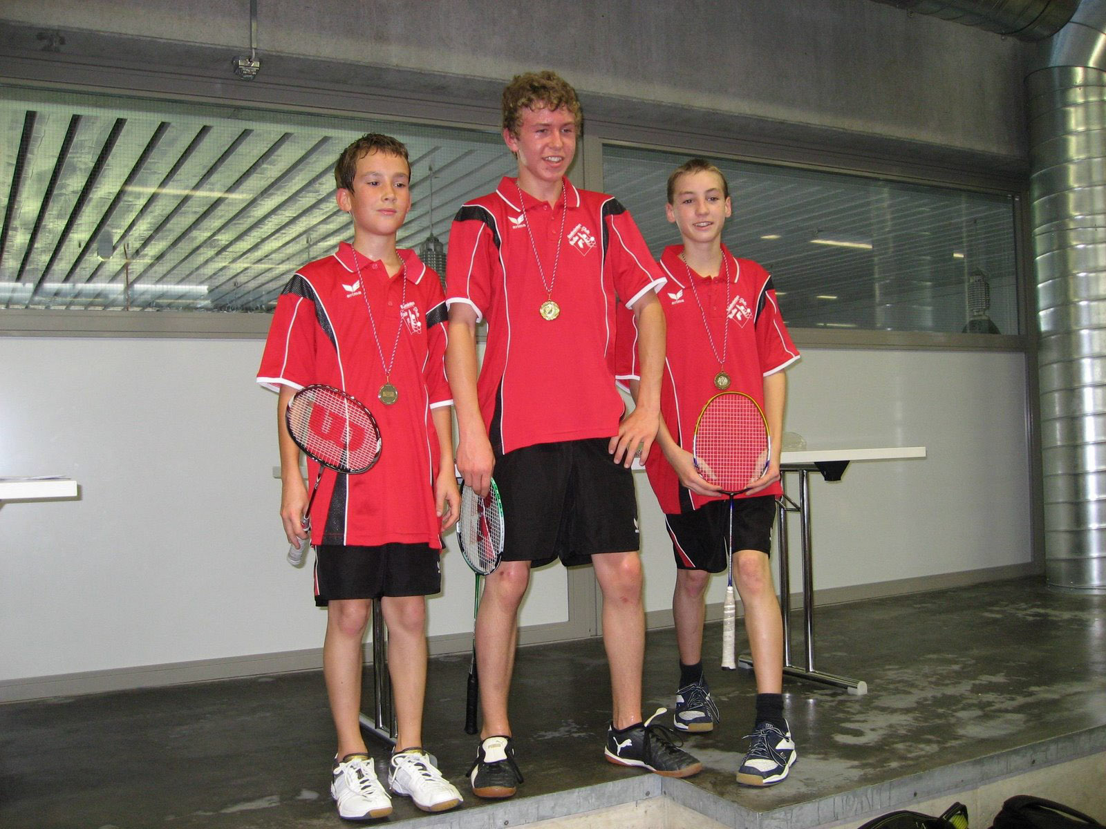 Circuit juniors Morat 2007